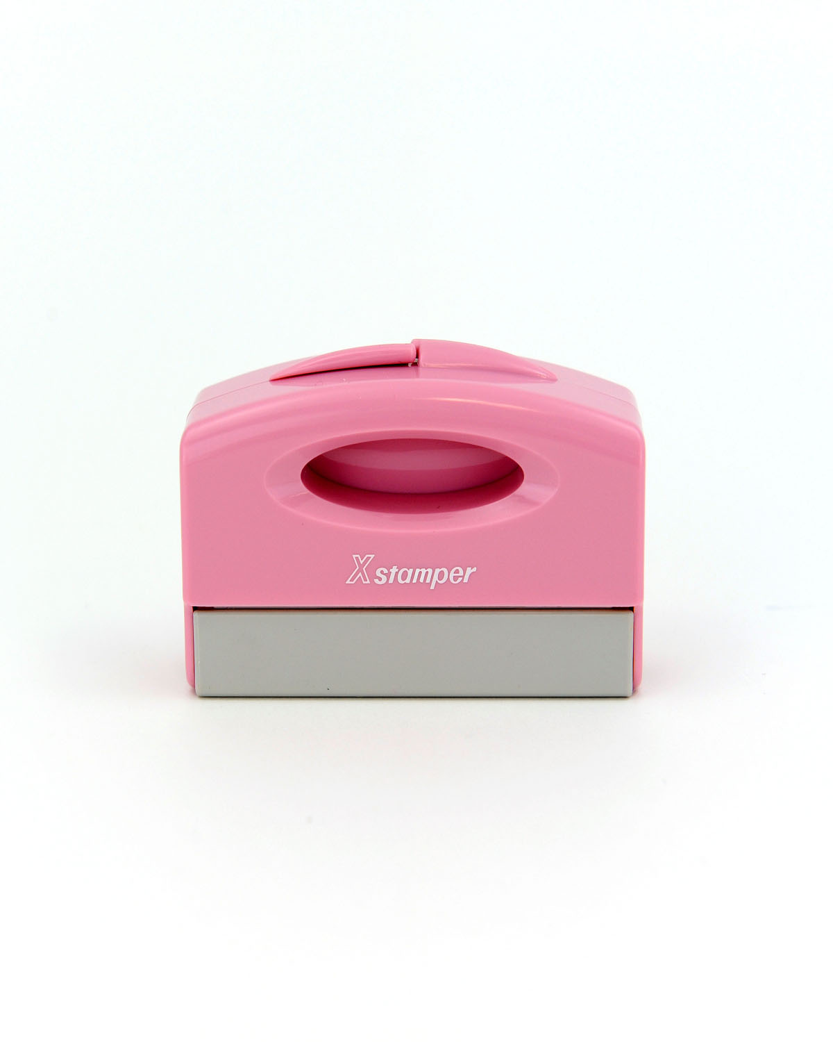 New ECO-GREEN Xstamper&#174 Pink Pocket Stamp