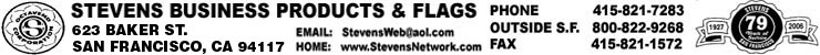 Stevens Business Products & Flags logo